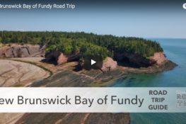 New Brunswick Bay of Fundy road trip