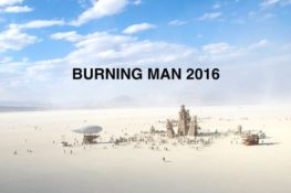 Burning Man from the air (2016)