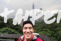 TAIPEI | Eating, Elephant Mountain, Leg Cramps, Sky...