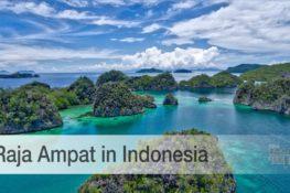 RAJA Ampat in Indonesia