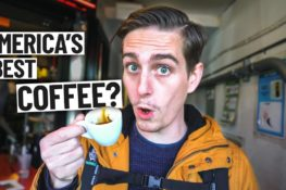 Trying the BEST COFFEE IN AMERICA