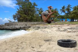 Backflips on the Beach – Dominican Republic