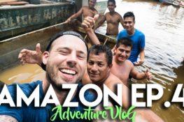 AMAZON JUNGLE ADVENTURE CHALLENGE VLOG – EP. 4